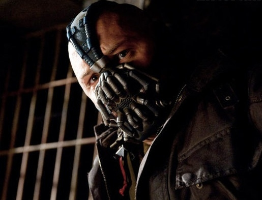 Tom Hardy at New Photos from THE DARK KNIGHT RISES