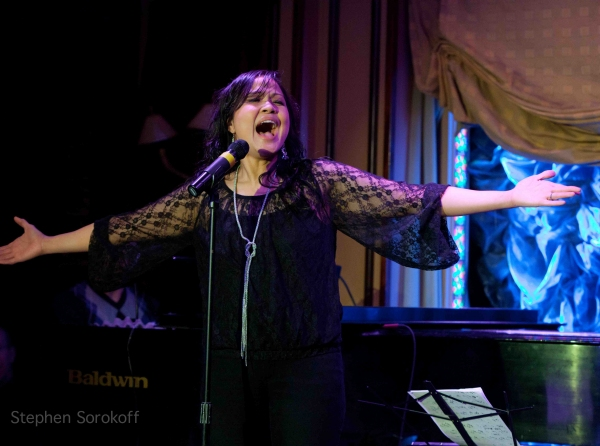 Joan Almedilla at Marilyn Maye, Maya Days et al. Take to the Stage in BROADWAY BALLYHOO at Feinstein's at Loews Regency