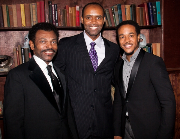 JD Webster, Nathaniel Stampley, and Trevon Davis