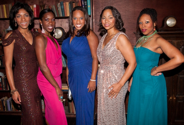 Alicia Hall Moran, Lisa Nicole Wilkerson, Allison Blackwell, Heather Hill and Andrea Jones-Sojol