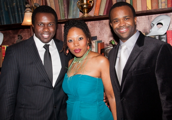 Joshua Henry, Andrea Jones-Sojol, and Phumzile Sojola Photo