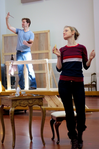 Photo Flash: Behind-the-Scenes of SUNDAY IN THE PARK WITH GEORGE at Repertory Theatre of St. Louis