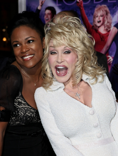 Mandatory Credit: Photo by Crollalanza / Rex USA (895044c)DeQuina Moore, Dolly Parton'Joyful Noise' film premiere, Los Angeles, America - 09 Jan 2012