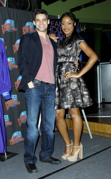 Mandatory Credit: Photo by Henry Lamb/Photowire / BEImages (896055b)Keke Palmer and Jeremy Jordan'Joyful Noise' photocall at Planet Hollywood, New York, America - 13 Jan 2012 at Jeremy Jordan, Dolly Parton Celebrate JOYFUL NOISE Release at Planet Hollywood