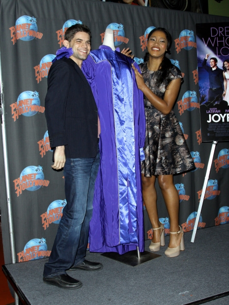 Mandatory Credit: Photo by Henry Lamb/Photowire / BEImages (896055i)Keke Palmer and Jeremy Jordan'Joyful Noise' photocall at Planet Hollywood, New York, America - 13 Jan 2012 at Jeremy Jordan, Dolly Parton Celebrate JOYFUL NOISE Release at Planet Hollywood