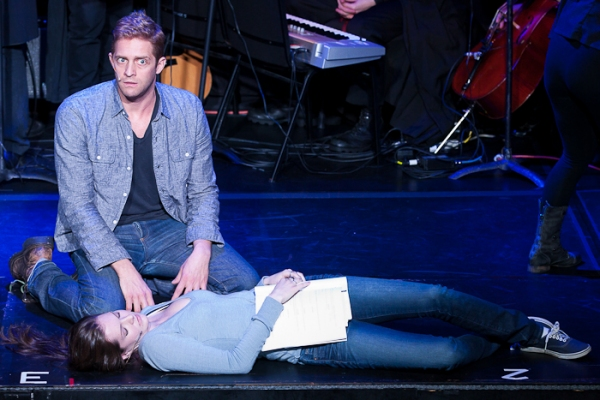 Colin Hanlon and Meghann Fahy at EXCLUSIVE - TWILIGHT: THE MUSICAL Dress Rehearsal
