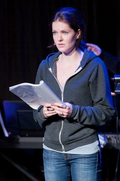 Meghann Fahy at EXCLUSIVE - TWILIGHT: THE MUSICAL Dress Rehearsal