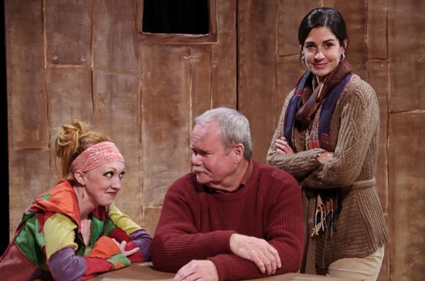(L-R): Rachel Graham, John Samson, Megan Heffernan