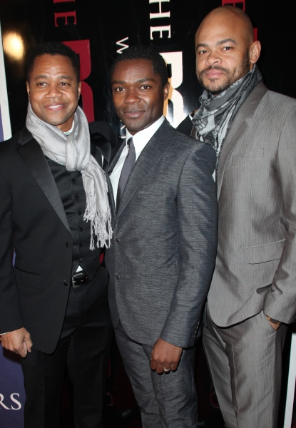 Cuba Gooding Jr, David Oyelowo and Anthony Hemingway