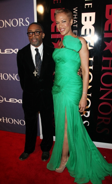 Spike Lee and Tonya Lee