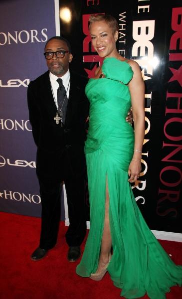 Spike Lee and Tonya Lee