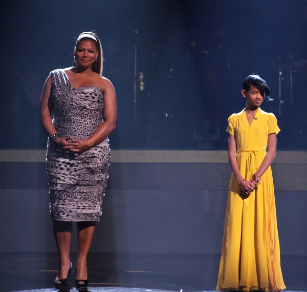 Queen Latifah & Willow Smith at BET Honors 2012 Awards Presentation