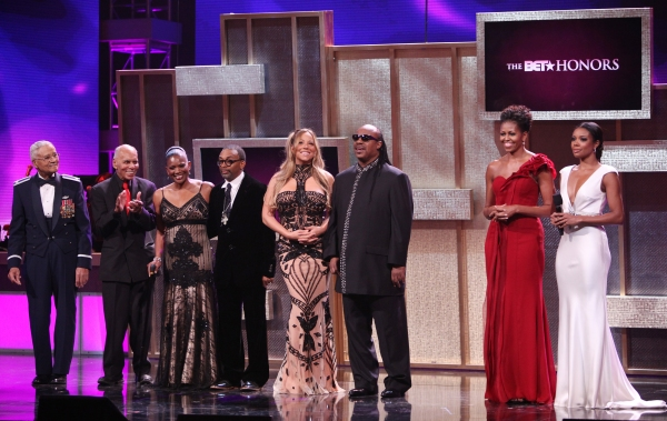 Charles McGee, Roscoe C. Brown Jr. Beverly Kearney, Spike Lee, Mariah Carey, Stevie Wonder, Michelle Obama and Gabriel Union
