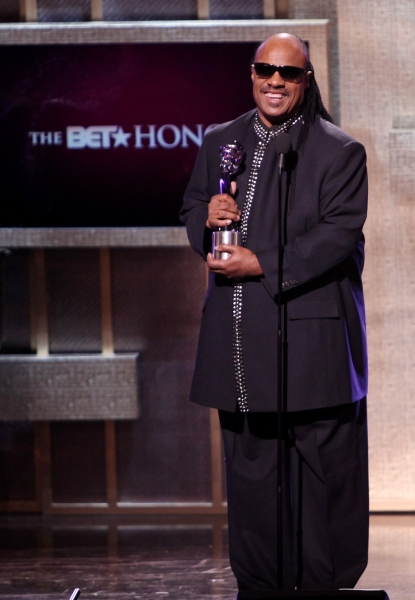 Stevie Wonder  at BET Honors 2012 Awards Presentation