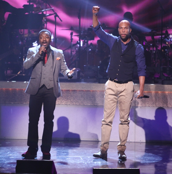 Anthony Hamilton and Common Photo