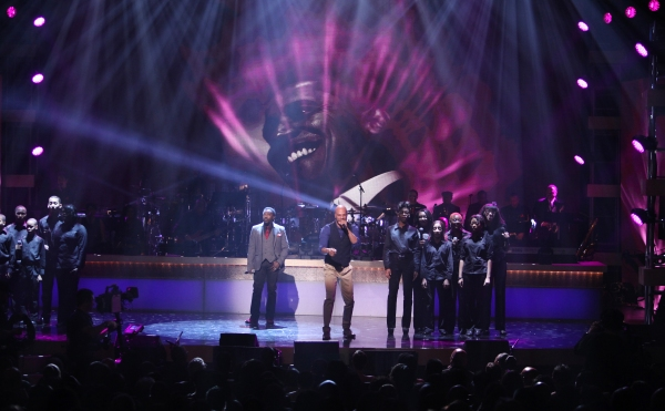 Anthony Hamilton and Common  at BET Honors 2012 Awards Presentation