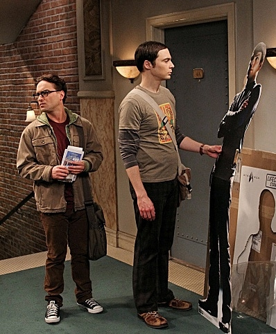 Johnny Galecki & Jim Parsons at Sneak Peek - CBS's THE BIG BANG THEORY's 100th Episode, Airing 1/19
