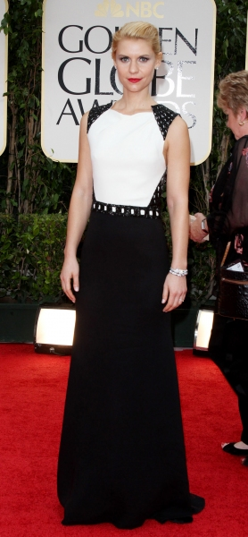 Photo Coverage: 2012 Golden Globe Awards - The Fashion!