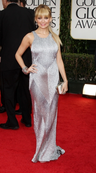 Nicole Richie pictured at the 69th Annual Golden Globe Awards held at the Beverly Hil Photo