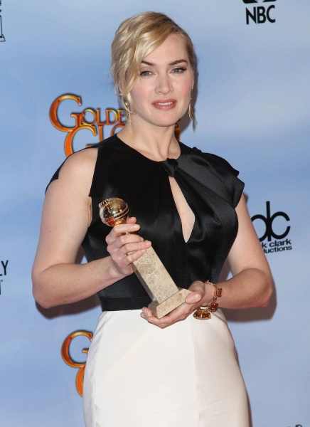 Kate Winslet pictured at the 69th Annual Golden Globe Awards held at the Beverly Hilton Hotel in Beverly Hills, California on January 15, 2012. © RD / Orchon / Retna Digital. at 2012 Golden Globe Awards - The Winners!