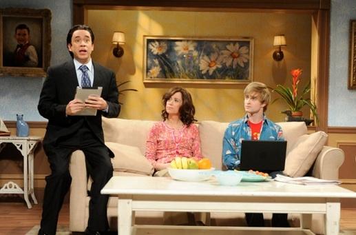 Fred Armisen, Kristen Wiig & Daniel Radcliffe