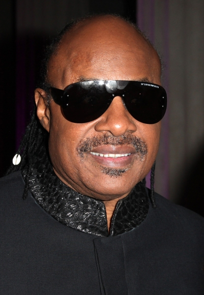 Stevie Wonder  at Aretha Franklin, Stevie Wonder, et al. at the 2012 BET Honors