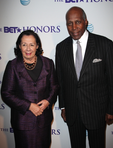 Ann Jordan & Vernon Jordan  at Aretha Franklin, Stevie Wonder, et al. at the 2012 BET Honors
