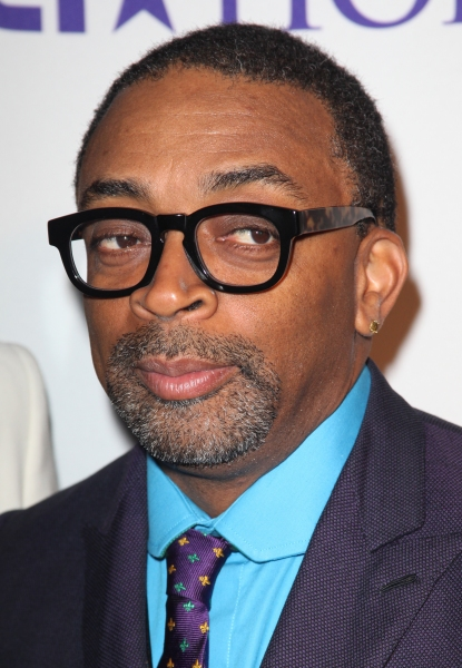 Spike Lee  at Aretha Franklin, Stevie Wonder, et al. at the 2012 BET Honors