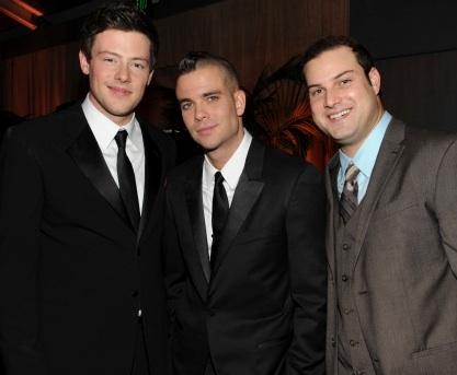 Cory Monteith, Mark Salling & Max Adler
