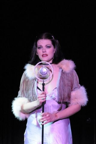 Kate Shindle at First Loot at Kate Shindle in Maltz Jupiter's CABARET