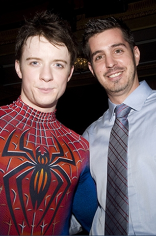 Photo Flash: SPIDER-MAN Hosts Talk Back for PS 343 Students