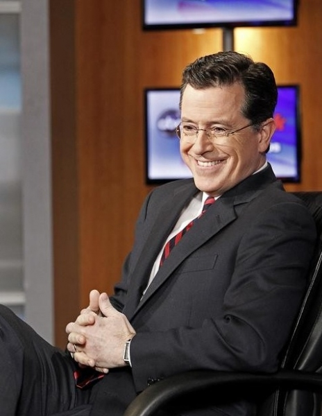 Stephen Colbert at Stephen Colbert Appears on ABC's THIS WEEK