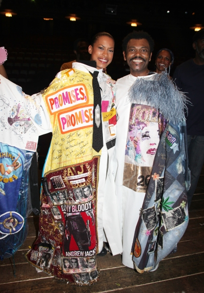 Kearran Giovanni (Gypsy Robe Recipient for Hugh Jackman-Back On Broadway) & J.D. Webs Photo