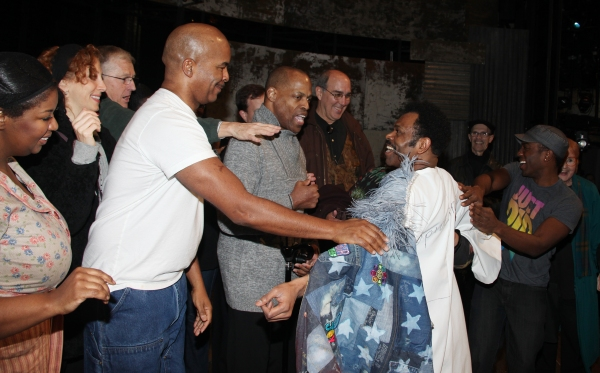 NaTasha Yvette Williams, David Alan Grier, J.D. Webster & Company  at Inside the PORGY & BESS Gypsy Robe Ceremony!