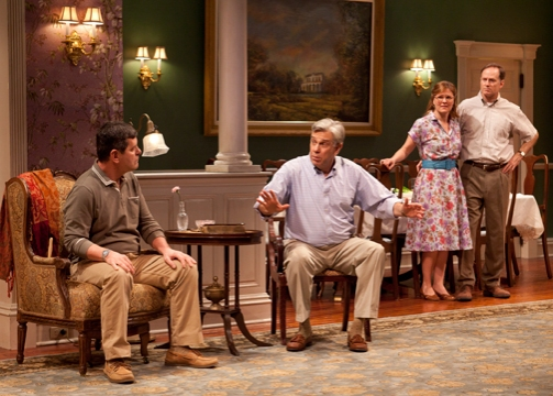 Horton Foote Jr., James Demarse, Kelly McAndrew and Devon Abner