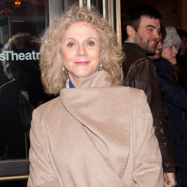 Blythe Danner at THE ROAD TO MECCA Opening Night Arrivals!