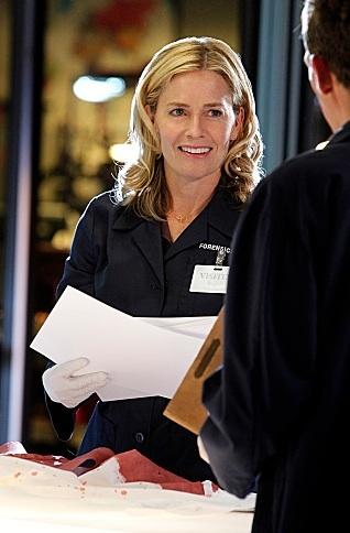 Elisabeth Shue at First Look - Elisabeth Shue Joins the Cast of CBS's CSI, 2/15