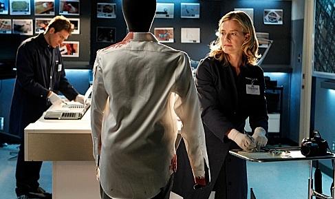 Eric Szmanda & Elisabeth Shue at First Look - Elisabeth Shue Joins the Cast of CBS's CSI, 2/15