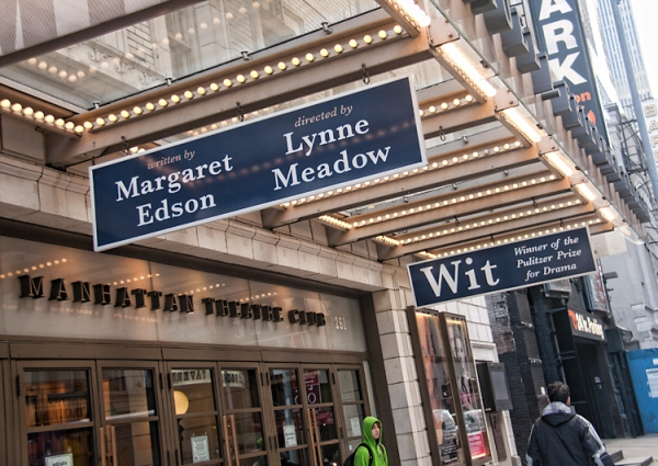 UP ON THE MARQUEE: WIT!