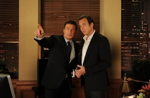 Alec Baldwin & Will Arnett at Sneak Peek - Kelsey Grammer, James Marsden Guest Star on Tonight's 30 ROCK