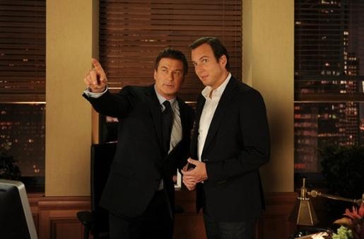 Alec Baldwin & Will Arnett at Sneak Peek - Kelsey Grammer, James Marsden Guest Star on Tonight's 30 ROCK
