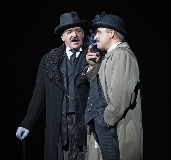 John Bowe, Peter Polycarpou at Photos and Video: First Look at West End's SWEENEY TODD with Michael Ball & Imelda Staunton