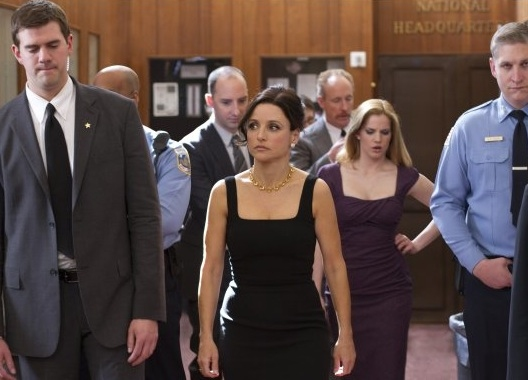 Tony Hale, Julia Louis-Dreyfus, Anna Chumsky & Matt Walsh at First Look - Julia Louis-Dreyfus in HBO's VEEP Premiering 4/22