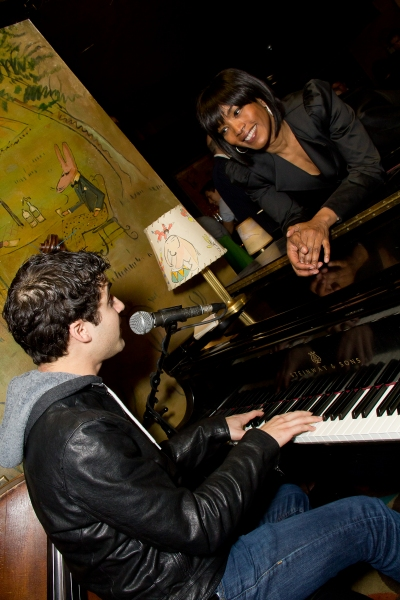 Photo Flash: Samuel L. Jackson, Darren Criss and Angela Bassett Celebrate THE MOUNTAINTOP