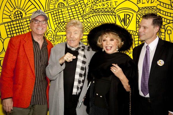 Andre Miripolsky, Rip Taylor, Ruta Lee and Tony Hoover