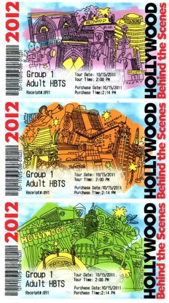Photo Flash: Red Line Tours Unveils Souvenir Tickets