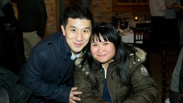 Richard Lee and Nina Lee Aquino