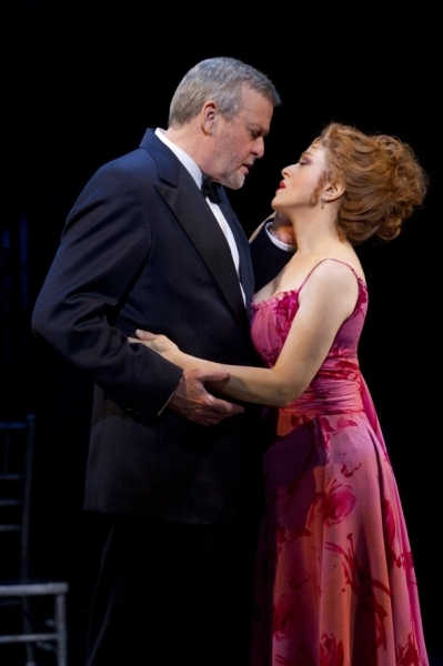 Ron Raines and Bernadette Peters in the Broadway production.