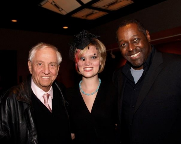 Garry Marshall, Kaitlin McCoy and Michael A. Shepperd at THE 39 STEPS Opens at La Mirada Theatre!