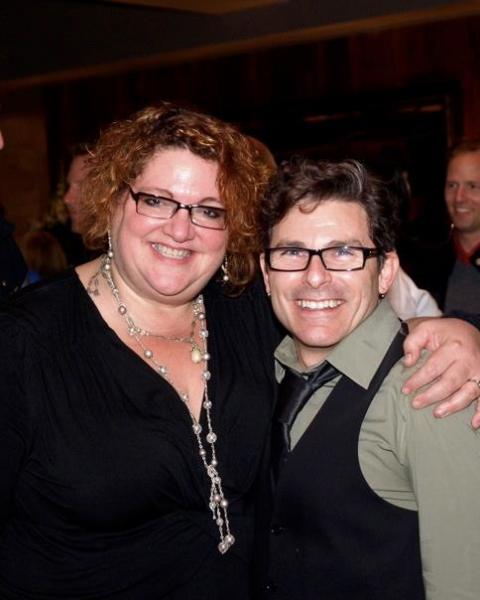 Jessica Kubzansky and Nick DeGruccio